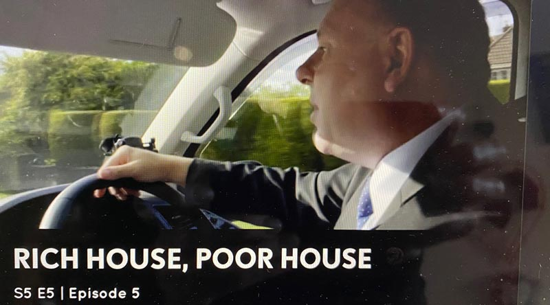 Private Hire Immacul8, Swindon on tv Rich House Poor House