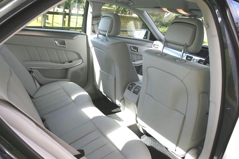 Executive private hire car