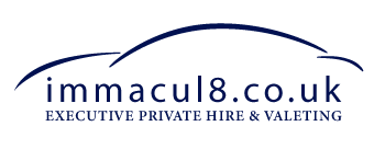 Immacul8 Private Hire Logo